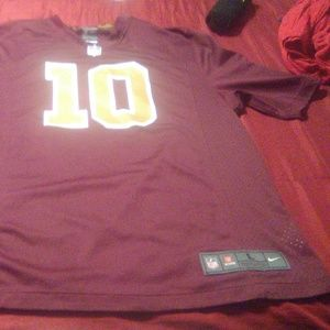 RG3 Redskins jersey